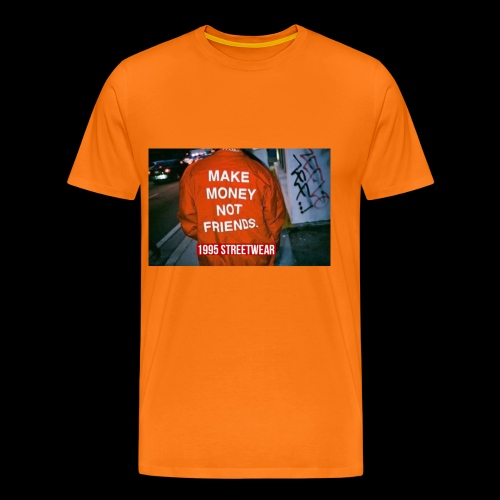 MAKE MONEY NOT FRIENDS - Maglietta Premium da uomo