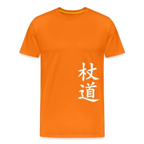 jodo kanji - Premium-T-shirt herr