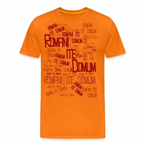 romani ite domum - Camiseta premium hombre