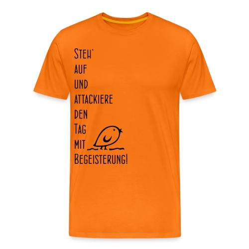 Tweetler Begeisterung - Männer Premium T-Shirt