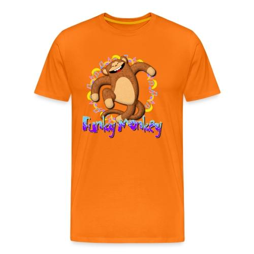Funky Monkey - Maglietta Premium da uomo