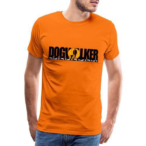 Dogwalker - Männer Premium T-Shirt