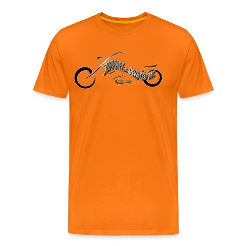 T-Shirt DEVOTEDMC mc Streetware - Premium T-skjorte for menn
