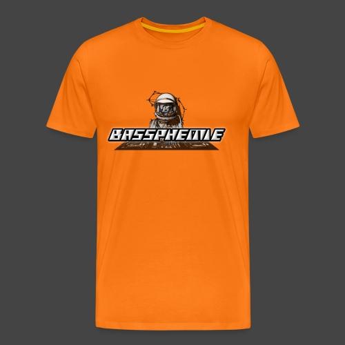 Bassphemie - Bassphemie Logo - Männer Premium T-Shirt
