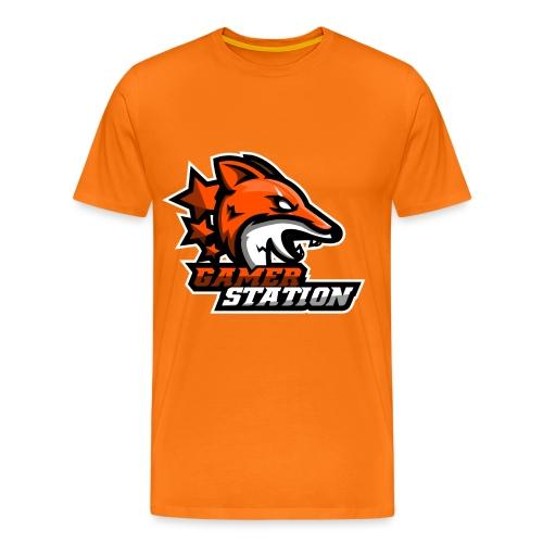logo vierkant png - Mannen Premium T-shirt