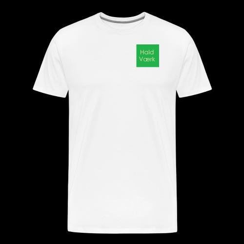 Haldværk - Herre premium T-shirt