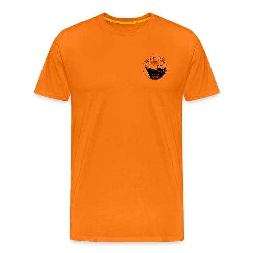 Logo_Sport-in-MV_gravur_2 - Männer Premium T-Shirt
