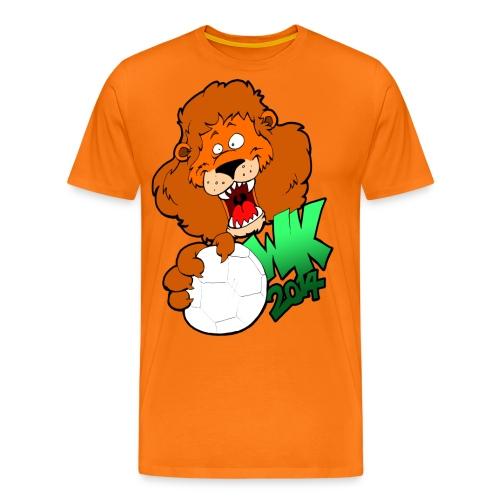 wk leeuw - Mannen Premium T-shirt