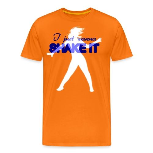 Shake it - Maglietta Premium da uomo