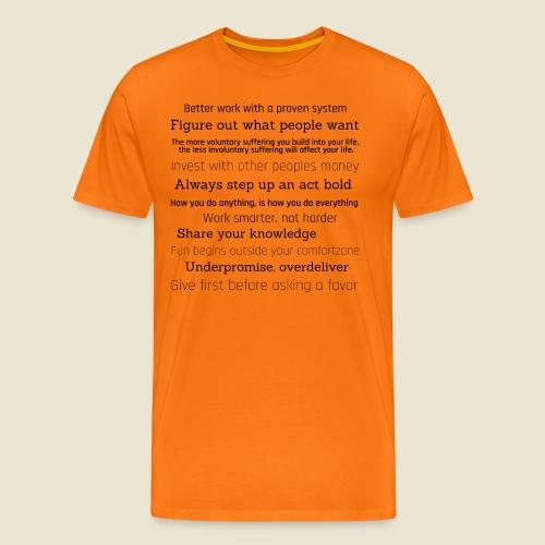 inspirations from great minds - Männer Premium T-Shirt