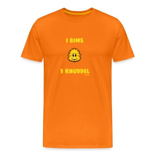 I Bims 1 Knuddel - Männer Premium T-Shirt