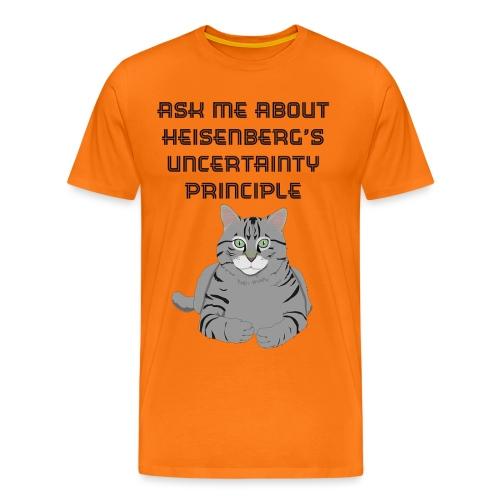 The Uncertain Cat - Men's Premium T-Shirt