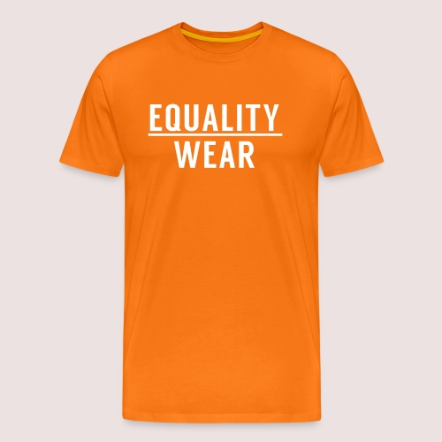 Equality Wear Official Pattern - Men's Premium T-Shirt