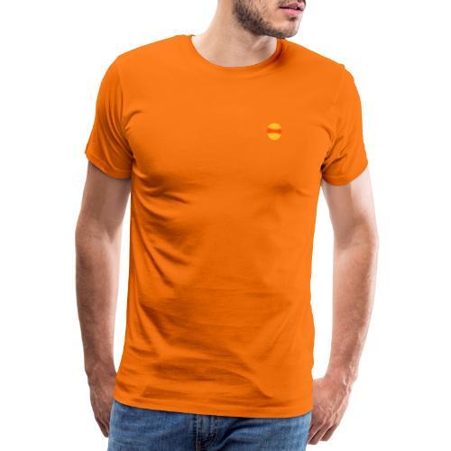 Brillen Face 1 - Männer Premium T-Shirt