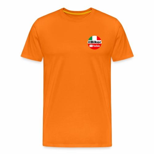 ilBiker - Logo tondo - Maglietta Premium da uomo
