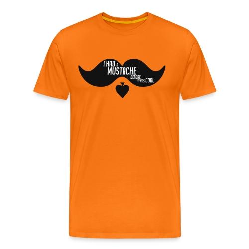 moustachePetit png - T-shirt Premium Homme
