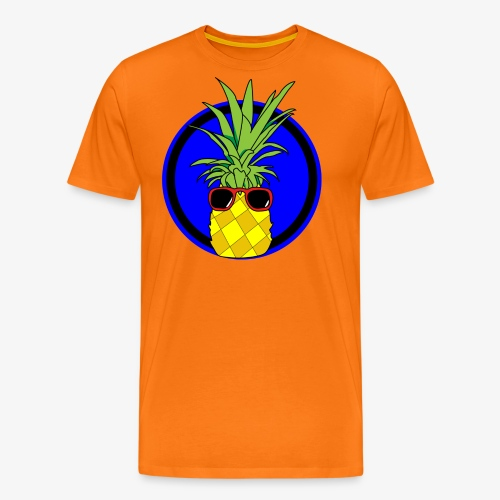 Cool pineapple - Men's Premium T-Shirt