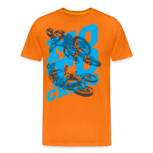 Motocross 01 - Koszulka męska Premium