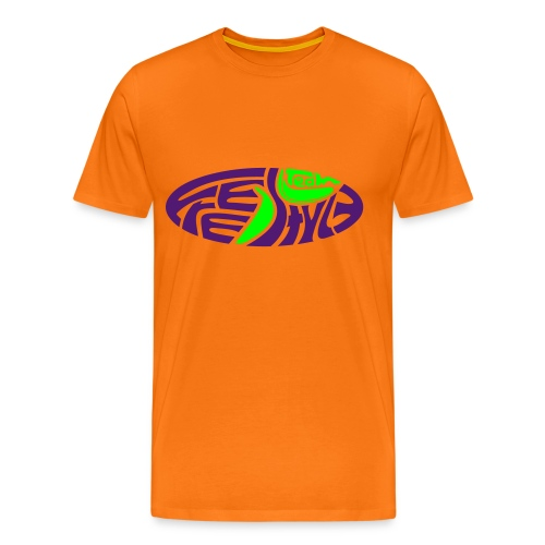 freestyleteam orange - Männer Premium T-Shirt