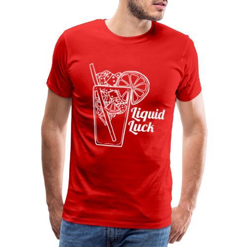 Liquid Luck - Männer Premium T-Shirt