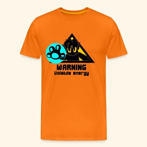 warning high shirt - Men's Premium T-Shirt