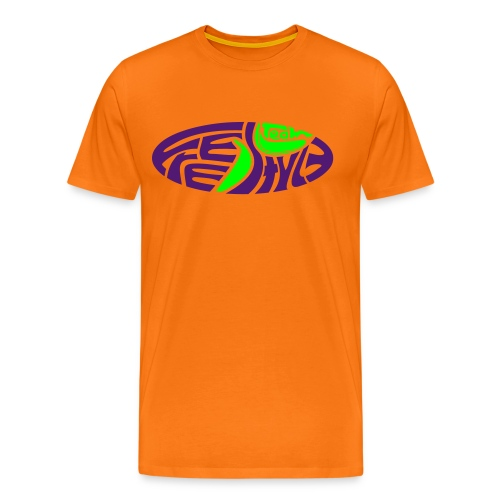 freestyleteam orange - Männer Premium T-Shirt