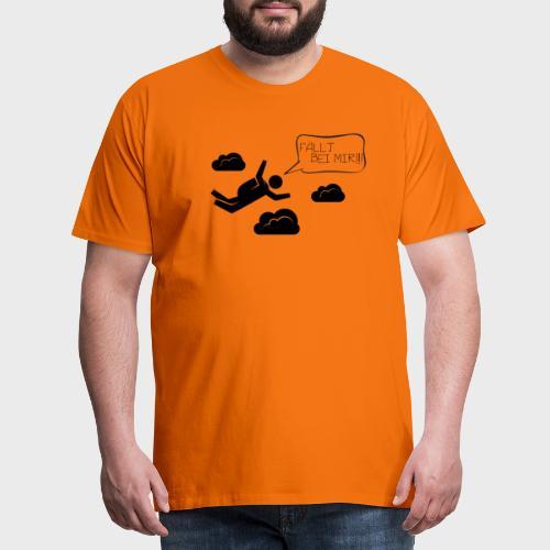 Fällt bei mir - Männer Premium T-Shirt