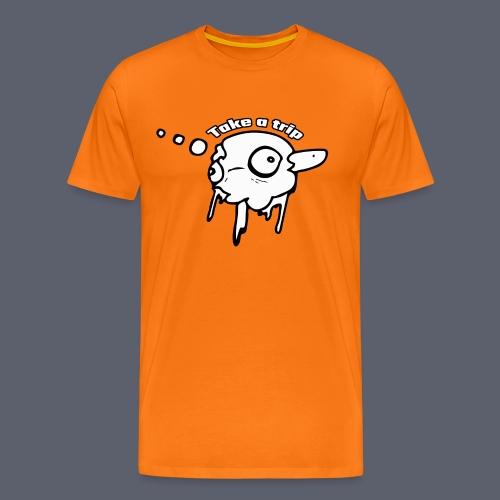 Trippy - Premium-T-shirt herr
