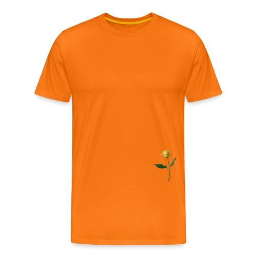 BD YELLOW ROSE - Männer Premium T-Shirt