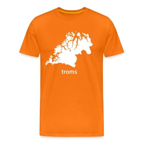 troms - Premium T-skjorte for menn
