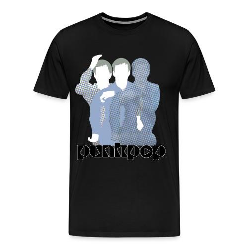 JD Post Punk PunkPop - Maglietta Premium da uomo