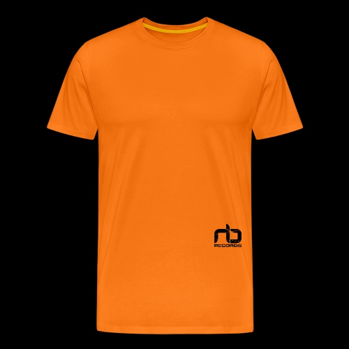 NB Records Logo White - Men's Premium T-Shirt