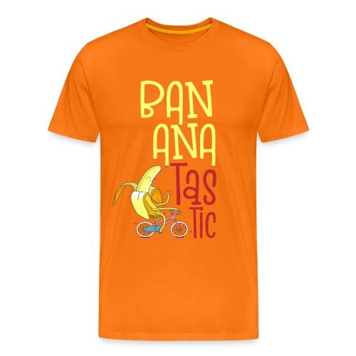 Bananatastic - Sportliche Banane Chill out - Männer Premium T-Shirt