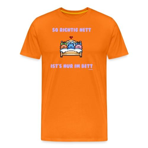 Dreier - Boy - Männer Premium T-Shirt
