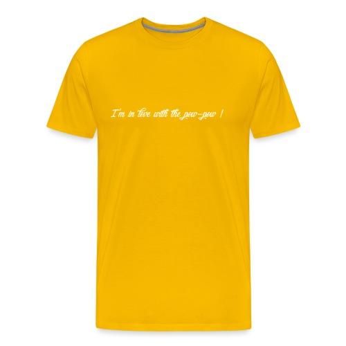 Pow-pow white - T-shirt Premium Homme