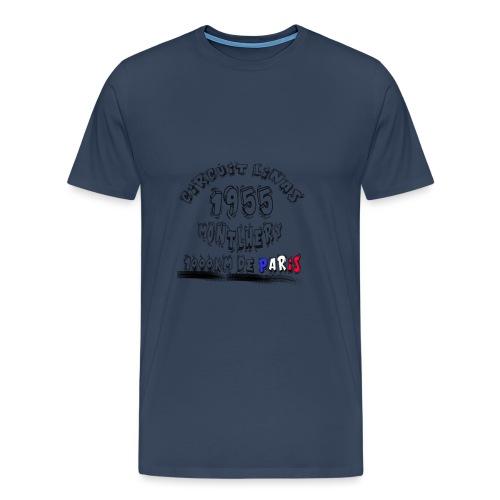 Les anciennes courses automobile - T-shirt Premium Homme