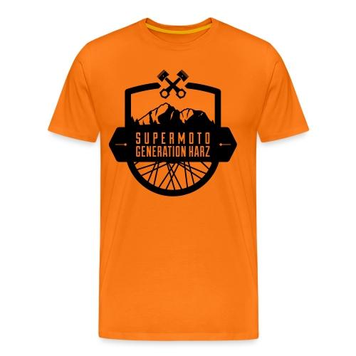 #SMGHarz Logo Neu - Männer Premium T-Shirt