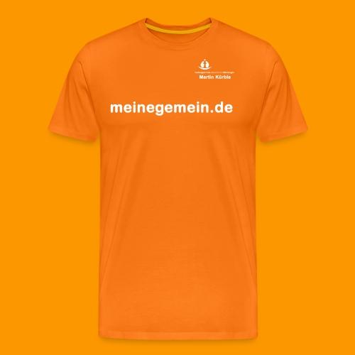 T Shirt Logo Kuer - Männer Premium T-Shirt