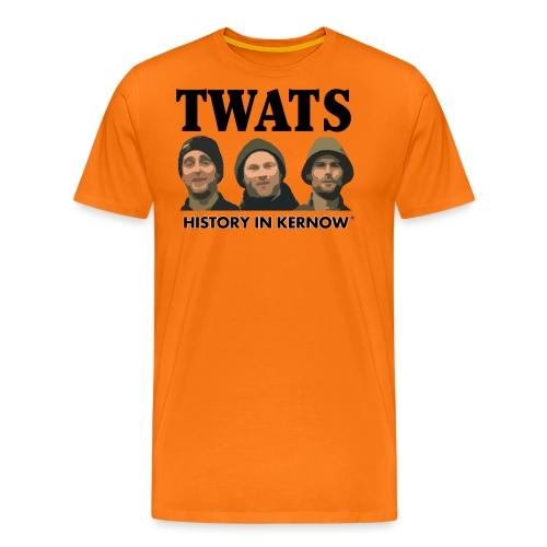 THE CREW TITLE TWATS - Men's Premium T-Shirt