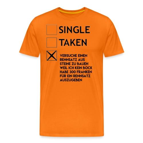 Rennsatz - Männer Premium T-Shirt