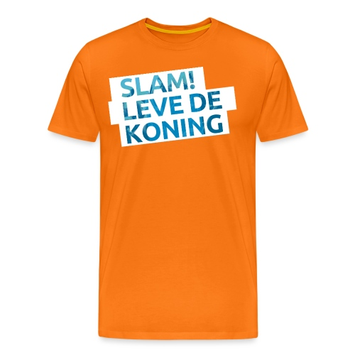 Slam leve de koning! - Mannen Premium T-shirt