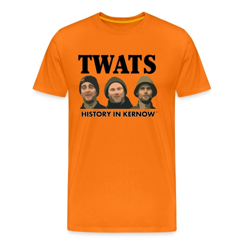 THE CREW TITLE TWATS - Men's Premium T-Shirt