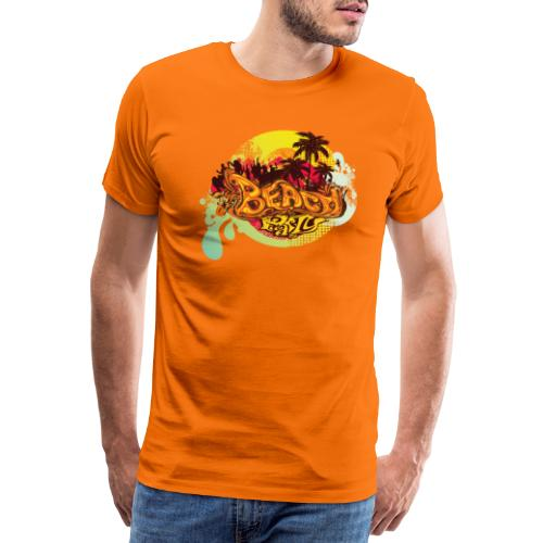 beach_party - Mannen Premium T-shirt