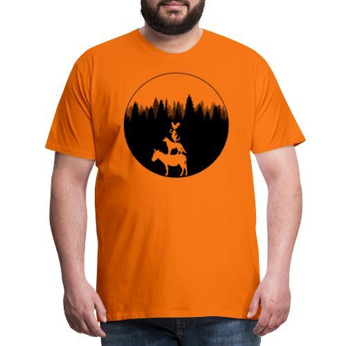 Bremen - Stadtmusikanten - Männer Premium T-Shirt