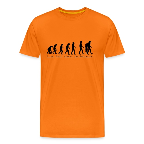 le bal de l'évolution - T-shirt Premium Homme