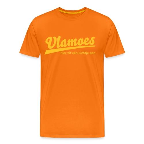 vlamoes kut lucht - Mannen Premium T-shirt