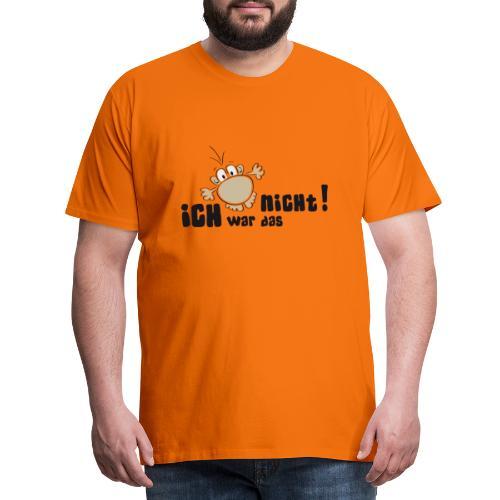 Ich war das nicht - Männer Premium T-Shirt