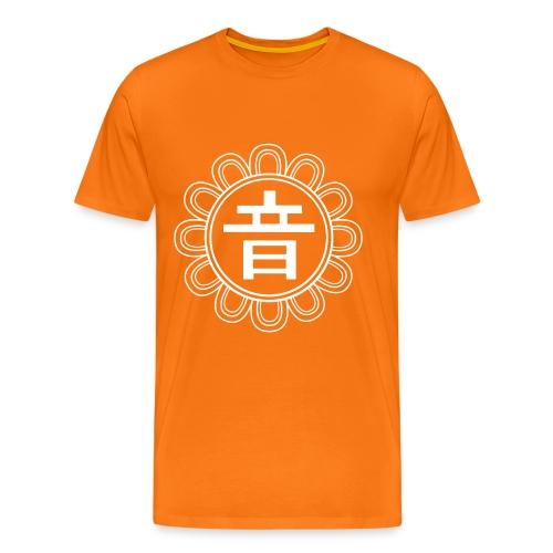 scratchmen oto hvid - Men's Premium T-Shirt