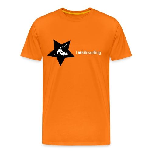 I love kitesurfing - Maglietta Premium da uomo