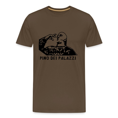 pino dei palazzi1 nero - Maglietta Premium da uomo